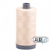 Aurifil 28 Cotton Thread - 2123 (Warm Pale Neutral)
